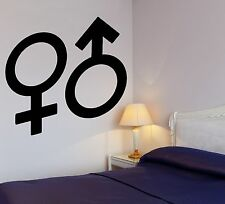 Wall Sticker Cool Design for Bedrooms Love Sex Romance Vinyl Decal (ig1216)