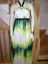 NWT BEBE SEXY STARBURST MULTI-COLORED WOMEN'S MAXI MIA DRESS-SIZE SMALL