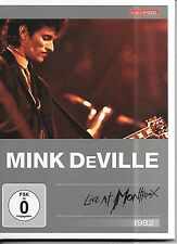 "DVD Mink DeVille ""Live At Montreux 1982"" Neu/New Kulturspiegel Edition DTS 5.1"