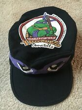 Vintage Rare 1990 Teenage Mutant Ninja Turtles TMNT Donatello Painters Cap Hat