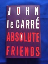ABSOLUTE FRIENDS - FIRST U.K. EDITION SIGNED BY JOHN LE CARRE