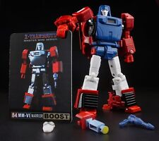 NEW X-TRANSBOTS Transformers MM-VI Boost Windcharger Figure In Stock