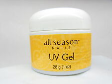 All Season Nails UV Nail Gel CLEAR 1 oz /28 g artificial nails extensions
