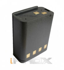 NTN5447 1800mAh Ni-MH 9.6V Battery for MOTOROLA MT1000 MTX800 MTX900 Black