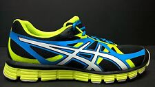 Asics, Men's, Size 7, T2H4N 9001, Gel-Extreme 33, Black / White / Electric Lime