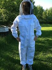 Full Bee keeping Suit, Heavy Duty NEW! size XXL fencing style hood