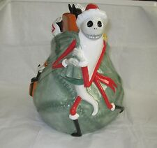 Disney Auctions Nightmare Before Christmas Santa Jack Skellington Cookie Jar New