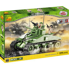 COBI small army WW2 Sherman M4 Tank 400 pieces building blocks #2443