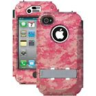 Trident Case AMS-IPH4S-PKWC Kraken AMS w/ Holster Apple iPhone 4/4S - Pink Camo