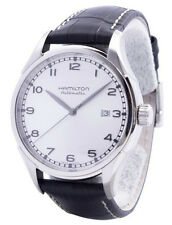 Hamilton American Classic Valiant Automatic Black Leather Men Watch H39515753