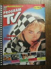 PROGRAM TV 42 (16/10/98) SHARON STONE JOHNNY DEPP