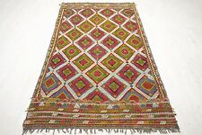 "Anatolia Turkish Antalya Nomads Kilim 63,7"" x 112,9""Area Rug Kelim Carpet"