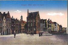 AK - CPA - Bruges - Place Jean van Eyck - Brugge - Editeur Jules Nahrath & Cie.