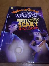 WALLACE & GROMMIT Curse of the were Rabbit The Monstrously Scary JOKE BOOK VGC