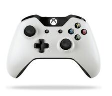 Xbox One / Xbox One S Wireless Controller -White w/3.5mm (Factory Refurbish