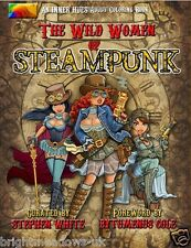 Wild Women Steampunk Adult Colouring Book Creative Fantasy Anime Manga Cosplay