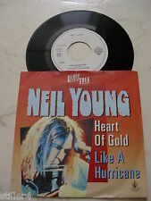 NEIL YOUNG Heart Of Gold / Like A Hurricane *UNIQUE GERMAN COVER*OLDIETHEK*