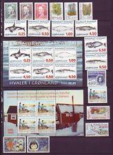 Groenland 1996   jaarcolectie posttfris/mnh