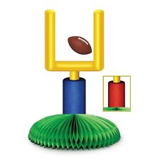 * FOOTBALL GOAL POST CENTERPIECE DECORATION*Game day*Super Bowl*