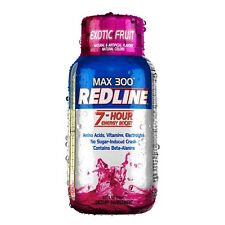 VPX REDLINE MAX 300 7-Hour Energy Shots 24 PACK EXOTIC FRUIT Replaces Power Rush