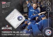 2016 Topps Now Baseball Toronto Blue Jays #539-B Game Used Base Relic #'ed/99