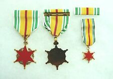 RVN Republic of Vietnam Wound Medal, set of 3