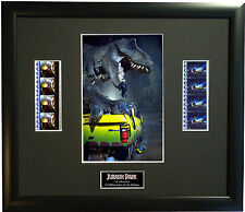 JURASSIC PARK  FRAMED AND MOUNTED 35mm FILM MOVIE CELL GREAT GIFT