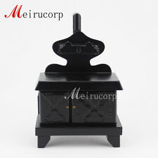 Dollhouse 1/12 scale miniature furniture Charcoal fire  Black  Kitchen stove
