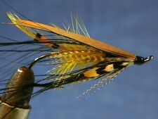 Classic flie for Atlantic salmon fly fishing - Dee fly AKROYD with black Heron