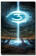 HALO 3 GAME POSTER Logo RARE HOT NEW 24X36