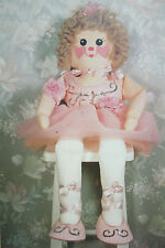 Rag Doll Ballerina Toy Sewing Pattern (RG04)
