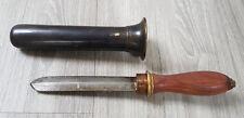 ITALIAN Std Diving Helmet Knife Taucherhelm Messer Scaphandrier Casque Couteau a
