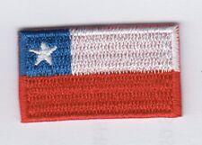 Chile  Patch,Aufbügler,Aufnäher 3,5cm* 2,0 cm