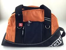 OGIO- NWT Halfdome Duffle Bag, Orange & Black Audio Pocket Half Dome, Juice