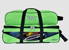 NEW TORCH LIME GREEN  3 BALL TOTE ROLLER &  W/SHOE AND ACCESSORY BAG ON SALE