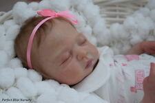 *PBN* REBORN BABY GIRL SCULPT LEAH 0317 BY SANDRA WHITE