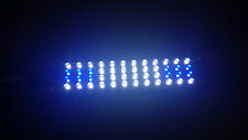 48 LED Nano Reef Light/Refugium Light Actinic Blue 10k Daylight