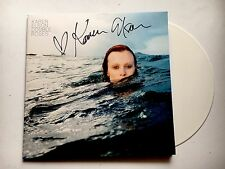 KAREN ELSON - DOUBLE ROSES  HAND SIGNED LTD EDITION WHITE RECORD AUTOGRAPHED