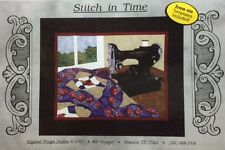 STITCH IN TIME Art Quilt Pattern-(Cynthia) England Design Studios sewing machine