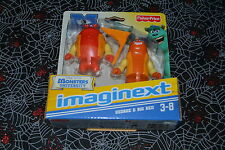 FISHER PRICE IMAGINEXT MONSTER UNIVERSITY GEORGE & BIG RED