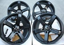 "19"" BLACK CRUIZE BLADE ALLOY WHEELS FITS AUDI A3 A4 A6 A8 Q3 Q5 TT 06  5X112"