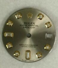 Rolex midsize slate  8+2 custom  diamond dial 2-T