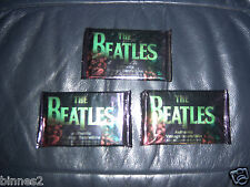 THE BEATLES SPORTS TIME - 3 PACKS UNOPENED TRADING CARDS 9 PER PACK 27 CARDS !