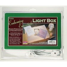 Embossing Stenciling Tracing LIGHT Box Table 9-1/8 x 5-7/8 x 2-1/2in Emboss