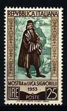 ITALIA REP. - 1953 - Mostra delle Opere di Luca Signorelli a Cortona e a Firenze