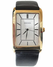 New Sekonda Gent Mens Womens Quartz Battery Watch Unisex Classic Analog 3283
