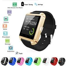 Bluetooth Smart Wrist Watch Phone Mate For IOS Android iPhone  Convenient