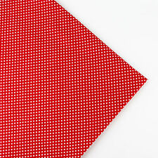 160x50cm Small Polka Dot cotton fabric patchwork quilt sew DIY Cloth 13 Colors
