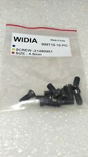 LOT OF 50 TORX SCREWS WIDIA M4.5X12mm SCREW FOR INSERT