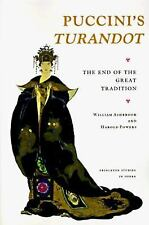 """Puccini's """"Turandot"""": The End of the Great Tradition (Princeton Studies in Oper"""